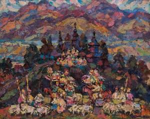 Герц Ю. 'Моя земле, Верховино', 2000