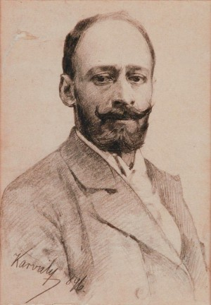 M. Karvaly Self-portrait', 1896
