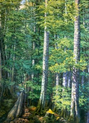 Буковий ліс, 1953, п.о. 140х100