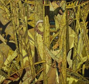 Прощання з горами, 1999, т.двп, левкас, жовткова емульсія