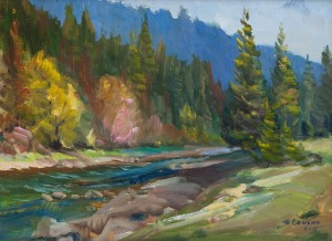V. Senko Autumn', 2015, oil on canvas, 40x55
