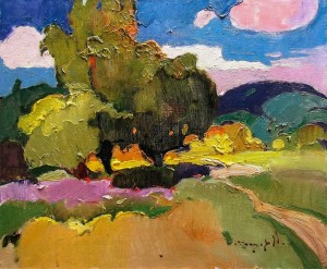 O. Shandor 'Summer Landscape', 2018