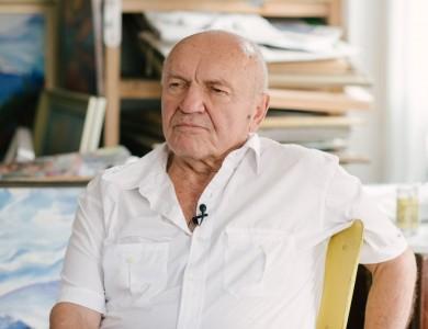 Master and his studio. Ivan Masniuk