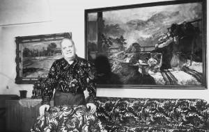 Борецький А. В кошицькій квартирі, 1970