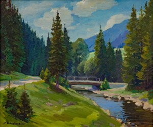 A. Brenzovych 'On The Way To Lake Synevyr', 2016