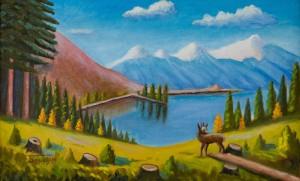 I. Brovdii Mountain Lake', 2004