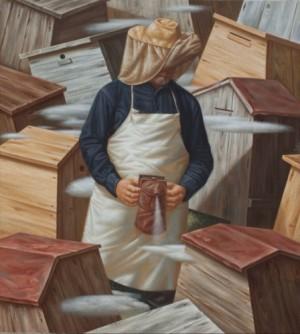 Бджоляр, 2011, п.о., 90х100