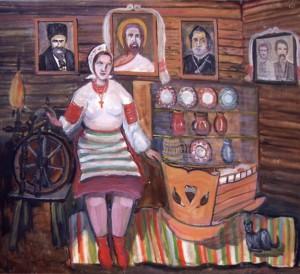 Берегиня, 2006, п.о., 70х110