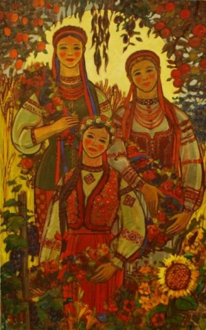 'Сестри', 1974, п.о., 127х80