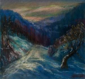 M. Dzys-Voinarovskyi Winter Motif'