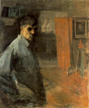 Self-portrait, 1916, oil on canvas