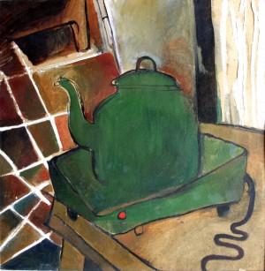 Веселий чайник, 1993, кар.о., 40х40