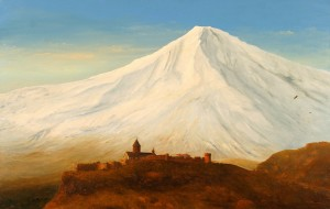 Ararat, 2005, oil on canvas, 85x135