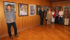Transcarpathian artists Attila kopryva PRESENTED a retrospective exhibition In HUNGARY