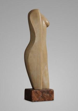 Корж Б. 'Амазонка', 2006, доломіт, 43х13х9