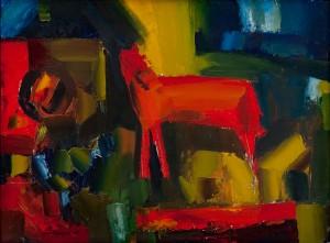 'Червоний кінь', 1989