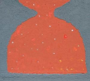 Untitled 2014 acrylic on masonite 100x100