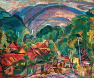 Верховина влітку, 1982, п.п., 50,5х59,5