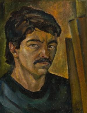 Автопортрет, 1986, к.о., 33х43