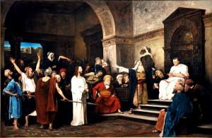 Христос перед Пілатом 1881 р.