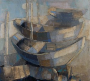 From the series Boats, 2009, 90x100
