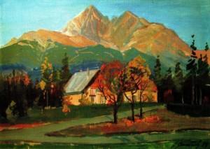 Високі Татри (Словаччина), 1988, п.о., 50х70