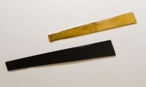 Із серії Золото Карпат, 2012, дошка, акр.,золота поталь, диптих, 219х32, 181х23