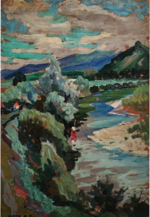 Біля Кольчино, 60-ті рр., к.о., 50х74