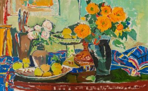 A. Kovach 'Green Still Life'