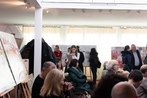 Presentations of master's works at the Transcarpathian Academy of Arts