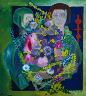 Self-portrait With Wife, 2000