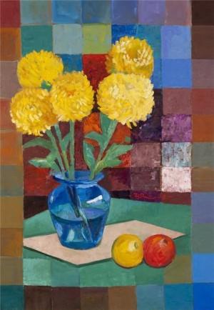 'Bouquet', oil on canvas, 2008