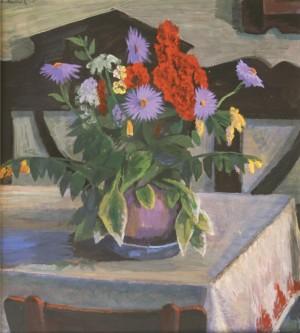 Фіалкові ромашки, 2006, орг.т. 69х62