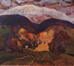 Вершина Пікуй, 1978, п.о. 80,6х90
