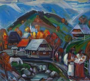 Багній М. 'Гірське село'