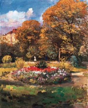 Botanical Garden, 1965, oil on canvas, 80x64,8