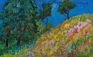 M. Hlushchenko 'Blue Sky'