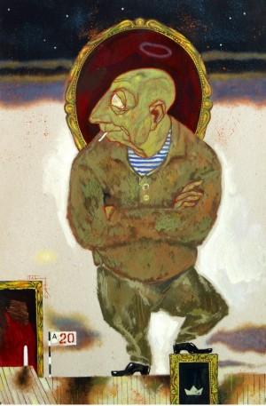 Портрет Олександра Саркісянца, 1990-ті