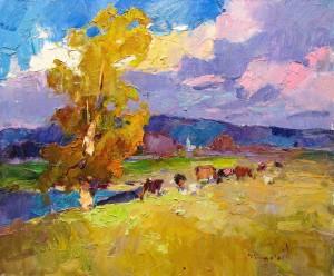 O. Shandor 'On The Pasture', 2018
