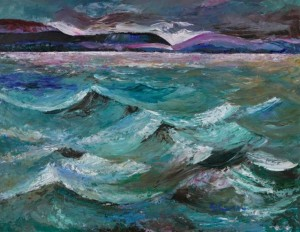 'Storm On The River Volha', 2008, 60x80