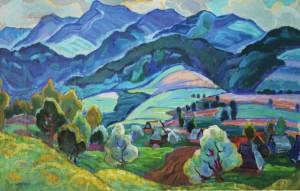 Верховинська весна, 1969, п.темп., 80х129