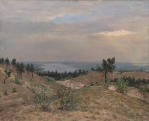 Глущенко М. 'Сірий день', 1949