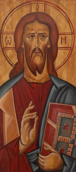 Kh. Karpinets 'Christ The Pantocrator', 2011.