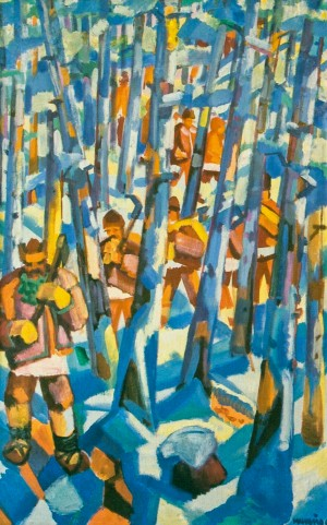 To the forest, 1969