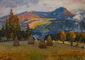 Шолес З.'Рахівські полонини', 1978