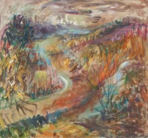 «Одна мить» Юлії Єгорової-Рогової: художниця представила в Києві персональну виставку