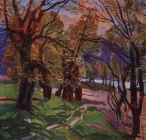 Весна в Невицькому, 1976, п.о. 75х80
