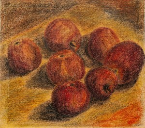 I. Chepa 'Still Life With Apples'
