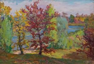 Глущенко М. 'Сонячний день', 1960-ті