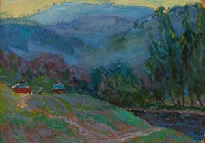 M. Hlushchenko 'Twilight In The Mountains'